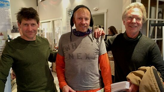 John Davis, Bill Amadon, and Larry Barns at Christmas in Essex 2017 (Source: Sharon Marchessault)