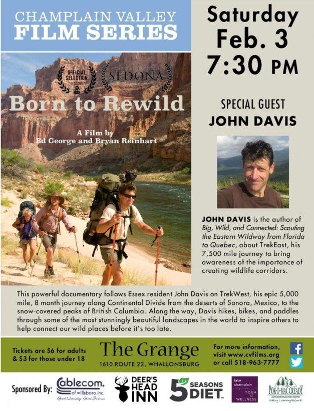 Born to Rewild Grange Poster