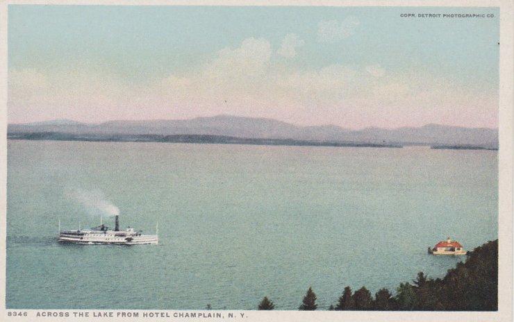 Across the Lake from Hotel Champlain, NY