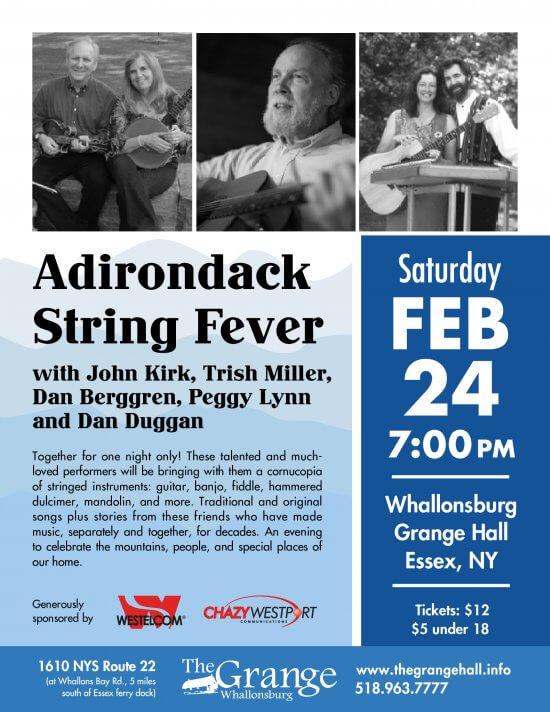 Adirondack String Fever Flyer
