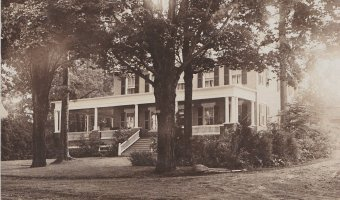 Vintage Postcard: The Goatsworth Residence
