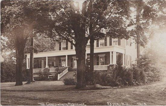 Vintage Postcard: The Goatsworth Residence
