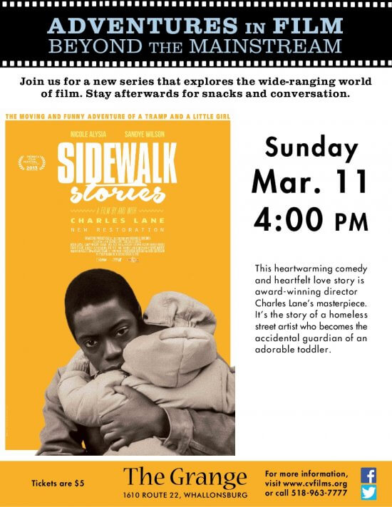Sidewalk Stories Poster