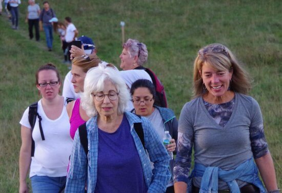 Over the past five years, the CATS Grand Hike has become an event where friends and families meet up to walk the route.