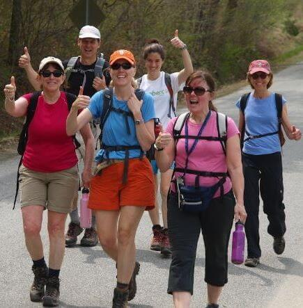 The Grand Hike celebrates hamlet-to-hamlet hiking and is open to all.