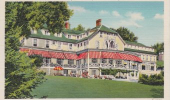 Vintage Postcard: Westport Inn