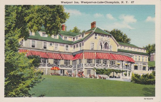 Vintage Postcard: Westport Inn