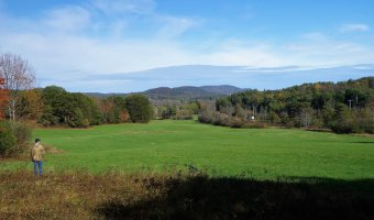 Viall's Crossing is a historic 132.5 farm in Westport, now protected by Champlain Area Trails. (Credit: CATS)