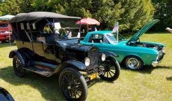 The Adirondack History Museum's 7th Annual Antique and Classic Car Show will take place on Saturday, June 9. Car enthusiasts throughout the region are invited to participate. (Photo provided by the Adirondack History Museum)