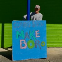 """Makeboro Celebrates Fix- It Day and """"Handing Over the Keys"""" (Source:Beverly Eichenlaub)"""