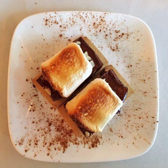 Chez Lin & Rays: Amazing gluten free, dairy free s'mores! (Source: Geo Davis)