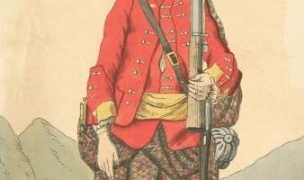 Soldier of 42rd regiment 1742