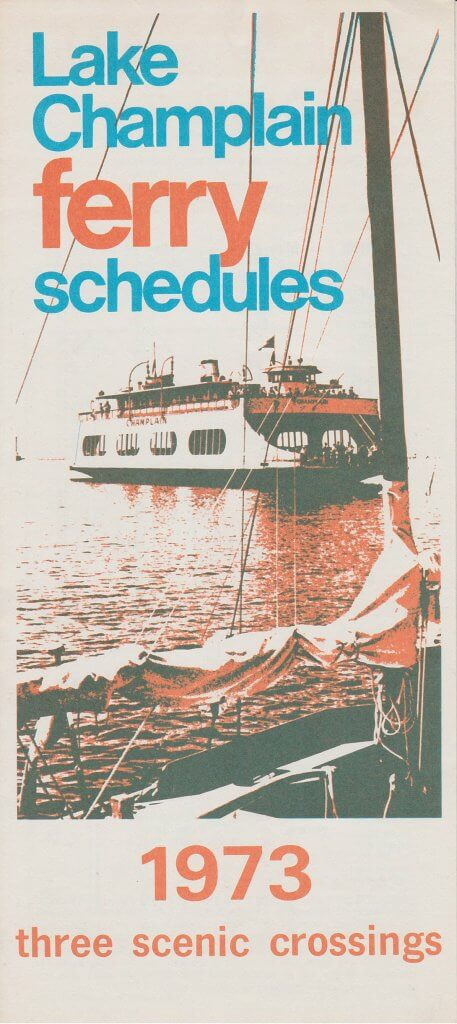 1973 Ferry Brochure (Front)