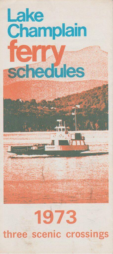 1973 Ferry Brochure (Back)