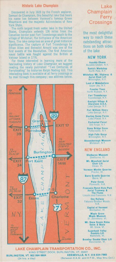 1973 Ferry Brochure (Interior 1)