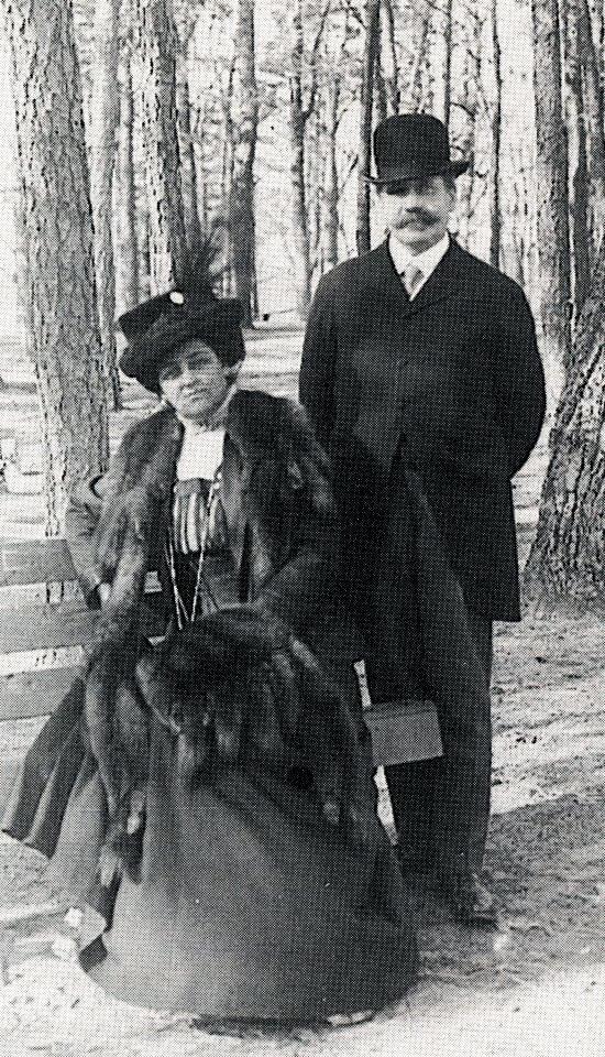 Jean and John Milholland