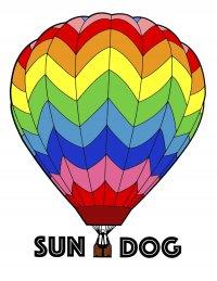 Sundog - hot air balloon