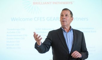 Rick Dalton leads CFES Brilliant Pathways, a group that helps disadvantaged kids earn degrees.