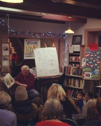 Steven Kellogg to Read in the Library on Christmas in Essex Day