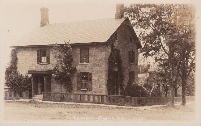 Vintage Postcard: Dr. Samuel Shumway House