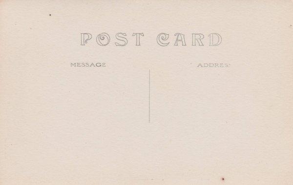 Vintage Postcard: Dr. Samuel Shumway House (back)