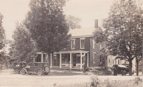 Vintage Postcard: Former County Home in Whallonsburg, NY