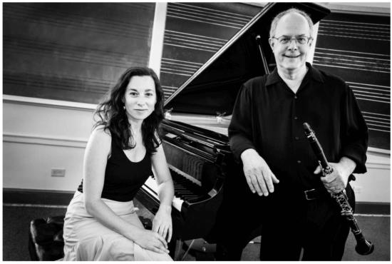 Sadie Brighten and Steven Klimowski