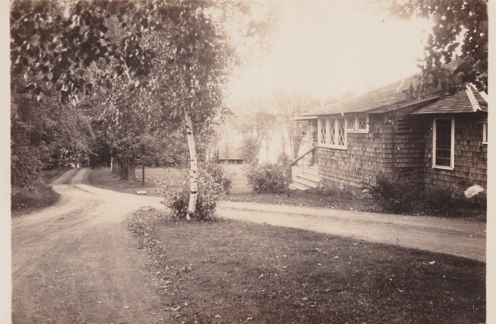 Vintage Photo: Platt Cottage, Essex, Lake Champlain, NY