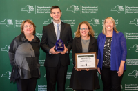 The Wild Center's Youth Climate Program Receives New York Environmental Excellence Award