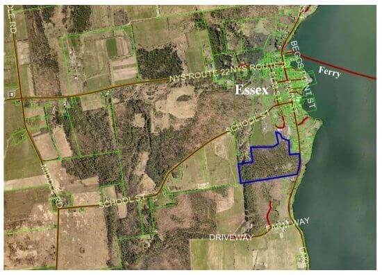 Aerial Map of Essex Quarry