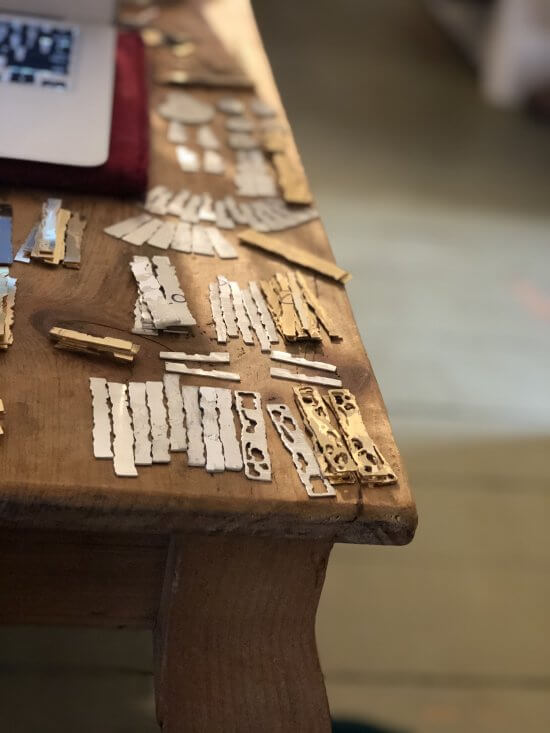 Come check out the jewelry making process at Kit+Syl Studio. I have my jeweler's bench set up, and I will be making work onsite at 2748 Lakeshore Rd.