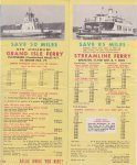 1955 Ferry Brochure (interior spread part 2)