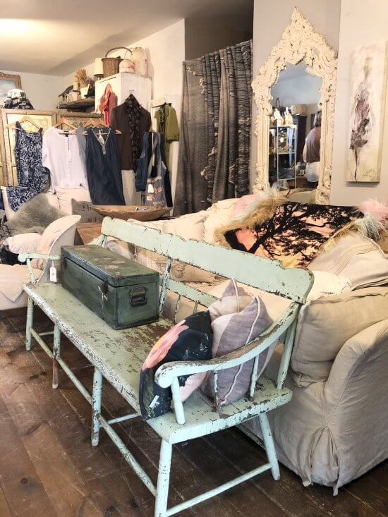 A cozy nest of unique apparel, garden and home goods