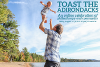Adirondack Foundation to #ToastADK on August 14