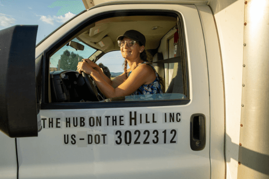 Hub on the Hill Delivery Vehicle (Photo: Jen Zahorchak)