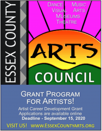 Essex County Arts Council Accepting Applications for Artist Career Development Grants