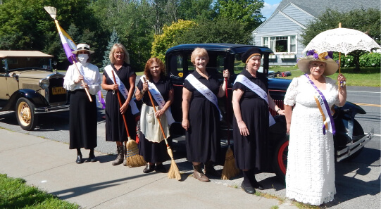 THS Suffrage Program Photo
