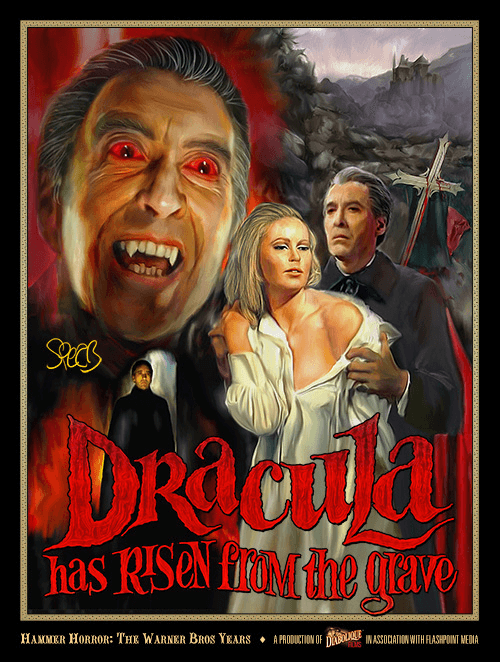 Dracula has Risen from the Grave (film poster)