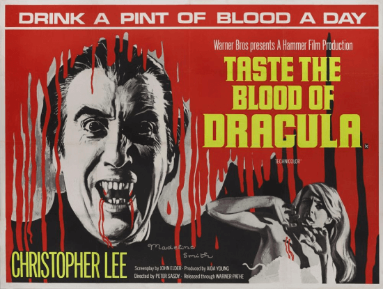 Taste the Blood of Dracula (film poster)
