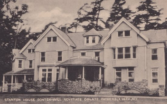 Vintage Postcard: Stanton House Donten-Will Oblate Fathers, Essex, NY