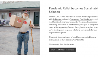 Pandemic Relief Becomes Sustainable Solution