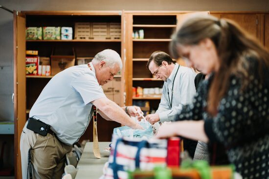 Generous Acts funding from Adirondack Foundation helped to support Indian Lake Central School's food backpack program, which provides a weekend supply of food for students in need. © Due West Photography, courtesy Adirondack Foundation