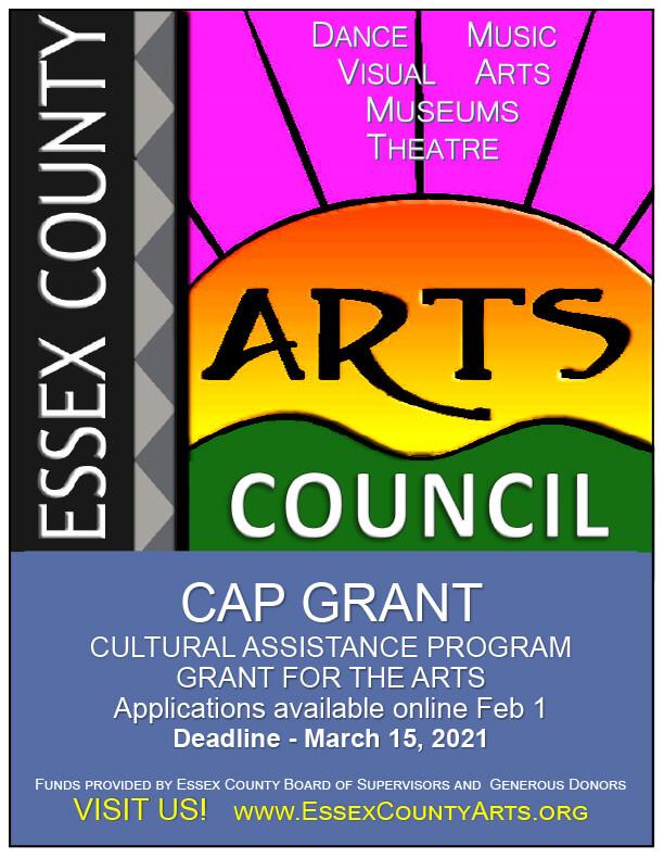 ECAC CAP grant flyer 2021