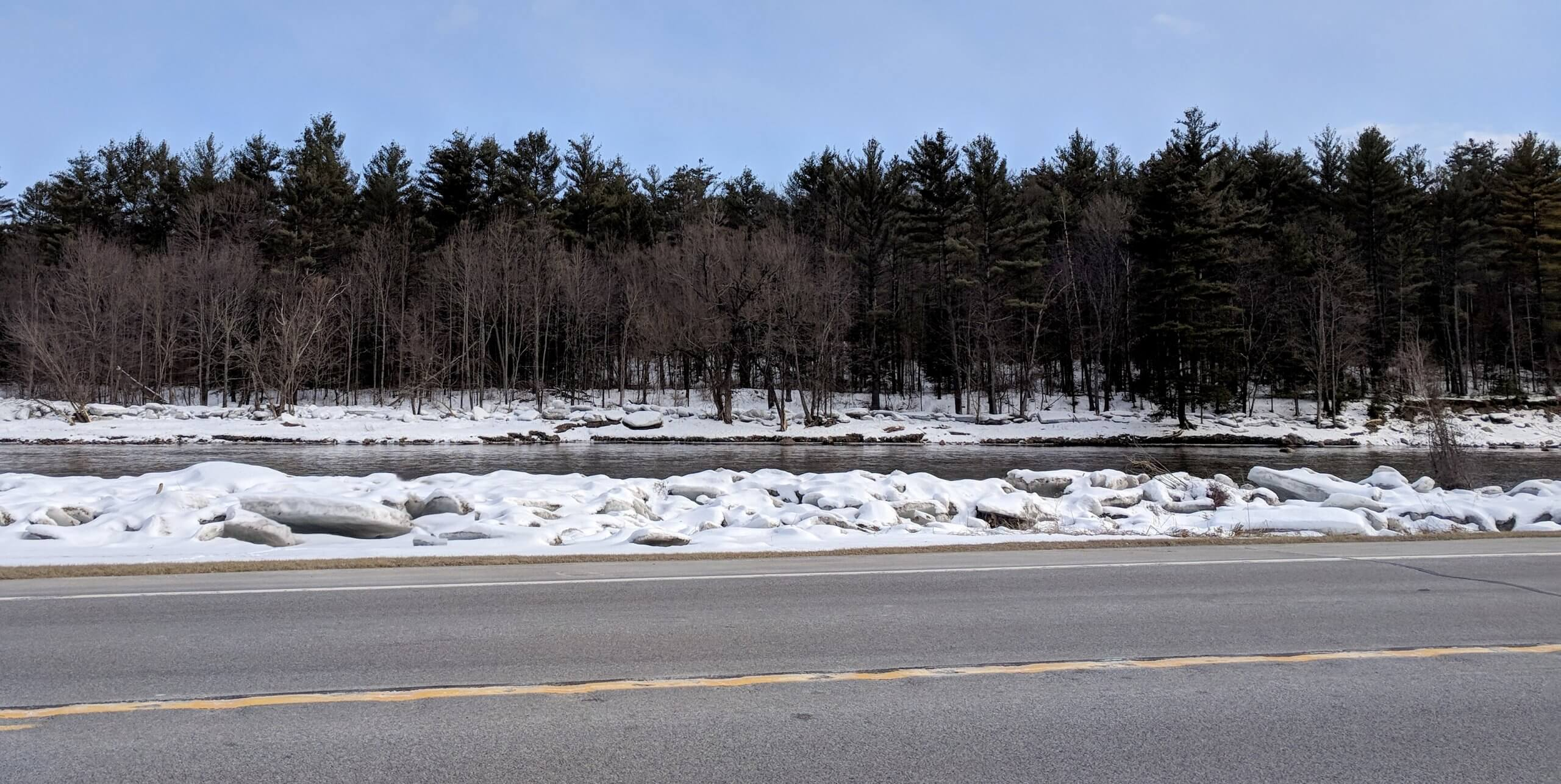 """AdkAction has been awarded $50,000 by the Lake Champlain Basin Program for a new """"Clean Water, Safe Roads'' partnership to reduce salt polluting the 125-mile-long lake between New York and Vermont."""
