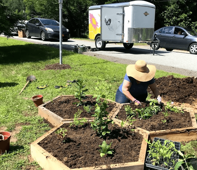 This summer, AdkAction's Mobile Pollinator Garden Trailer (also affectionately known as the Pollinator-Mobile) will rove the Adirondacks, planting community pollinator gardens and leaving blooms, bees, and butterflies in its wake.