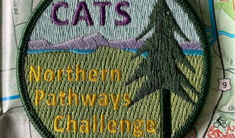 CATS Northern Pathways Challenge patch.
