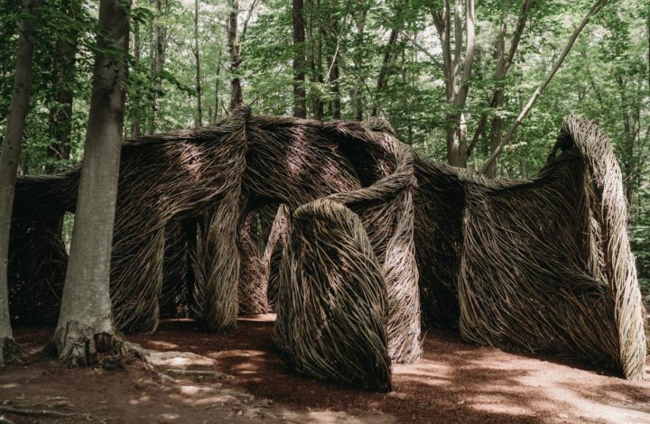 Alnoba, Shape of Enchantment – an example of a Stickwork sculpture