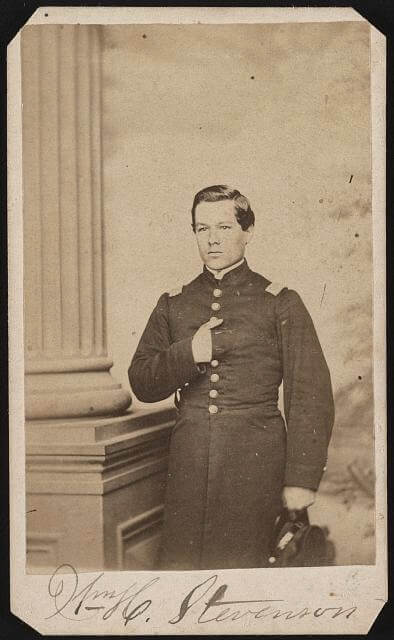 William H Stevenson 118th NY (Source: Library of Congress)