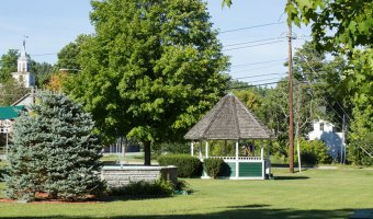 The Village Green in Jay is the site of Jay Day on Aug. 21, revived after several years absence by the Au Sable Valley Rotary Club.