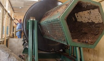 Community scale composter designed by Compost for Good